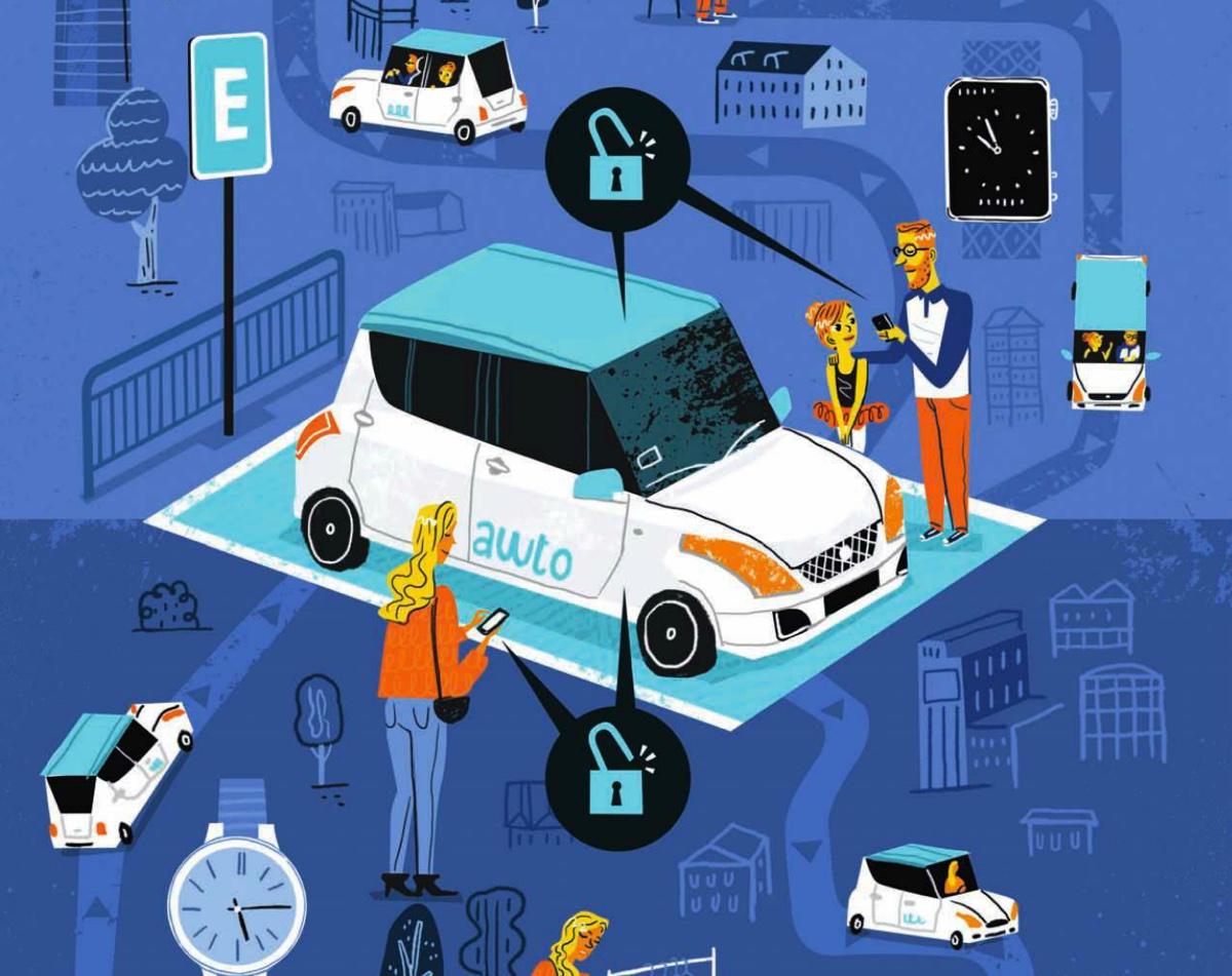 El automóvil como un servicio
