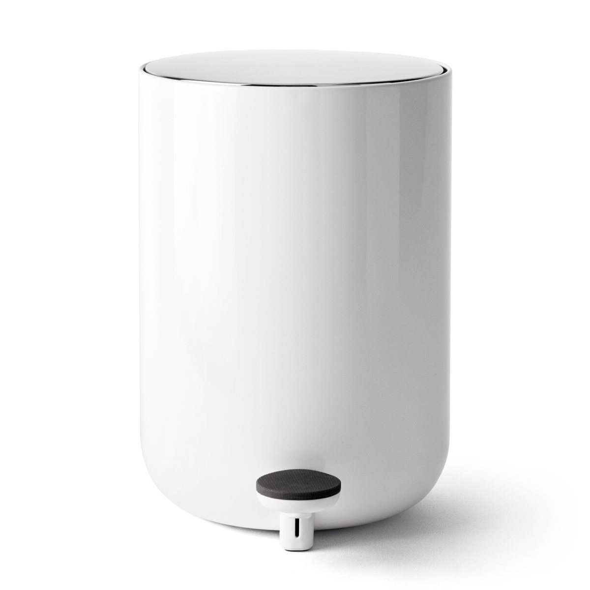 Menu Bath Pedal Bin White  Leo  Bella