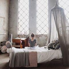 Wooden Kitchen Clock Lg Appliances Reviews Leo & Bella | Numero 74 Cotton Canopy Silver Grey