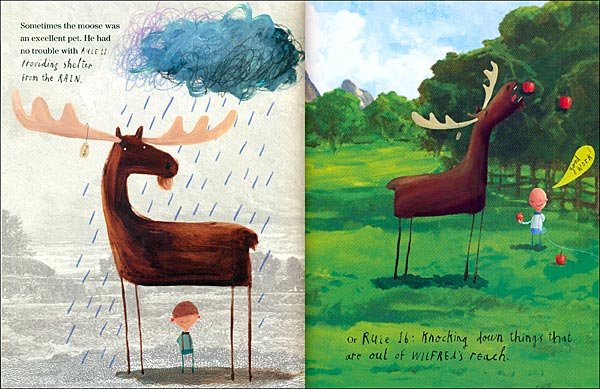 This Moose Belongs to Me by Oliver Jeffers  Leo  Bella