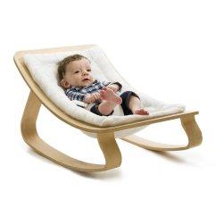 Rocking Baby Chair Hanging Stand Diy Leo And Bella Charlie Crane Rocker Levo White