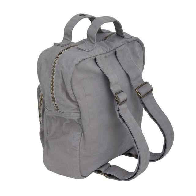 Numero 74 Kids Backpack Stone Grey  Leo  Bella
