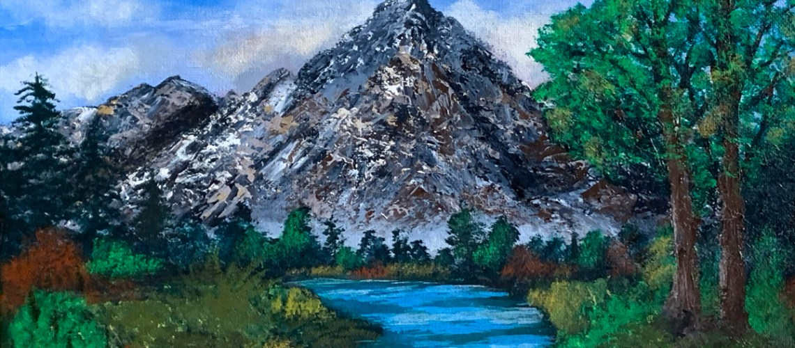 Mountain Escape Featured Image, Leo Art Creations