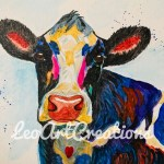 Cow by Leo Art Creations