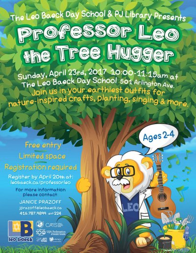 Professor Leo The Treehugger