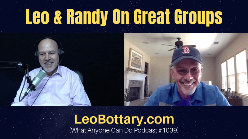 Leo & Randy On Great Groups