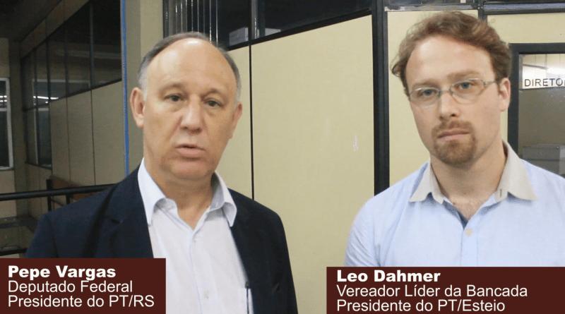 Pepe Vargas e Leo Dahmer falam sobre saneamento na Região Metropolitana