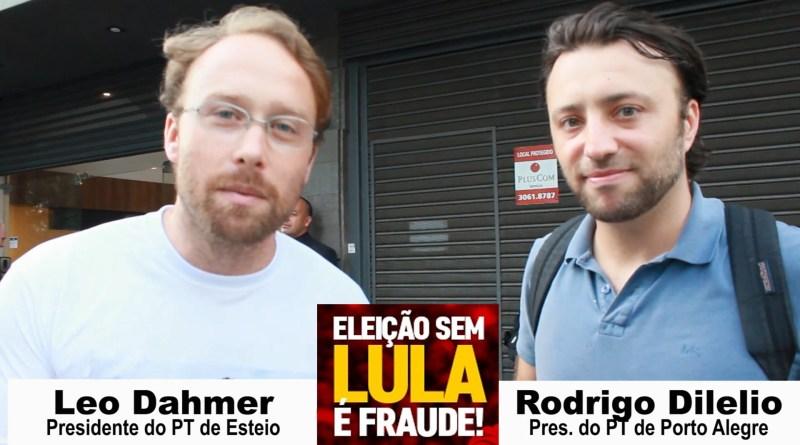 Ato de Juristas e Intelectuais em defesa da democracia e de Lula em Porto Alegre