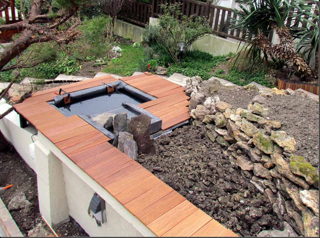 construire un bassin hors sol avec