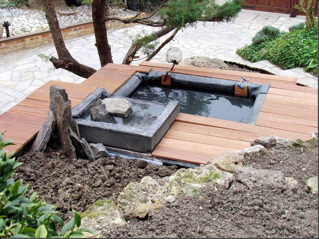 comment faire un bassin exterieur r ve de gosse un. Black Bedroom Furniture Sets. Home Design Ideas