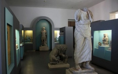 Odessa Archaeological museum exposition