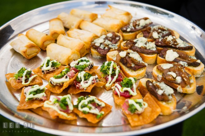 Image Of Wedding Reception Finger Food