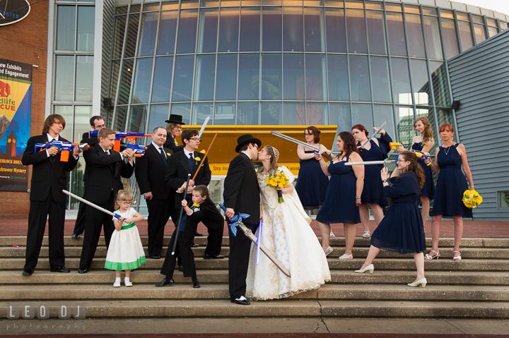 Maryland Science Center Wedding Heather Mauno
