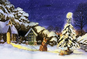 Mimi Christmas Illustrated by Leo Hartas