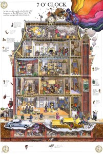 This Old House illustrated by Leo Hartas