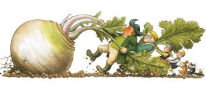 Fairy Tales The Enormous Turnip illustrated by Leo Hartas