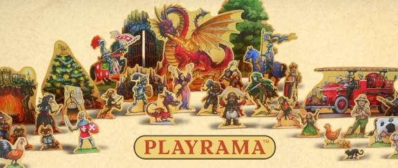 Playrama children's card play sets