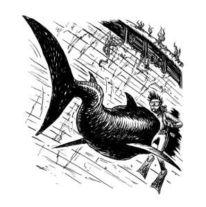 Adventure Island - Shark Attack