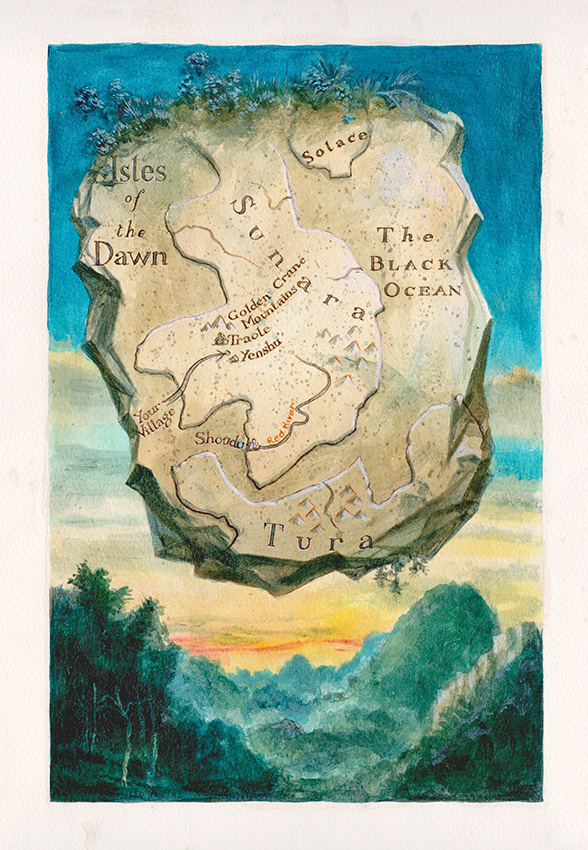 Leo Hartas - Fighting Fantasy Isles of  the Dawn