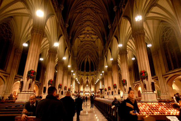 Christmas in NYC St Patricks Cathedral