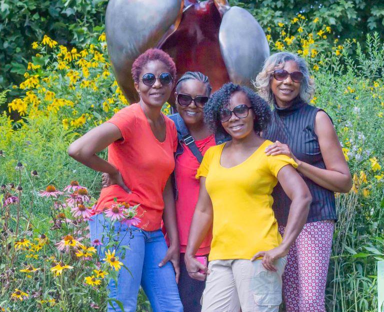 Friends at the Botanical Garden