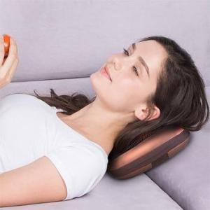Массажная подушка с ИК-прогревом Massager Pillow