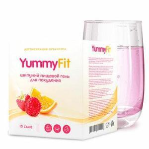 Yummy Fit - шипучий гель для снижения веса