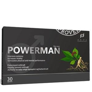 PowerMan для потенции