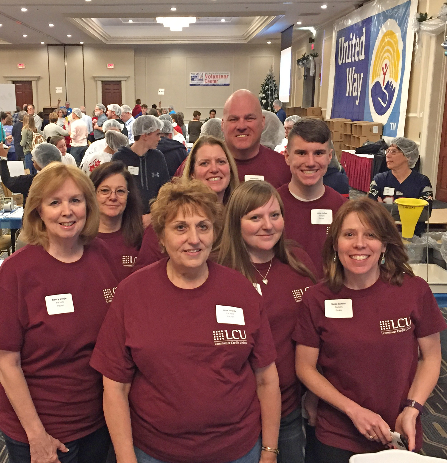 Leominster Credit Union Participates In United Way Of