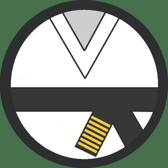 Leominster Martial Arts_Rank_Black Belt 7 Yellow Stripes