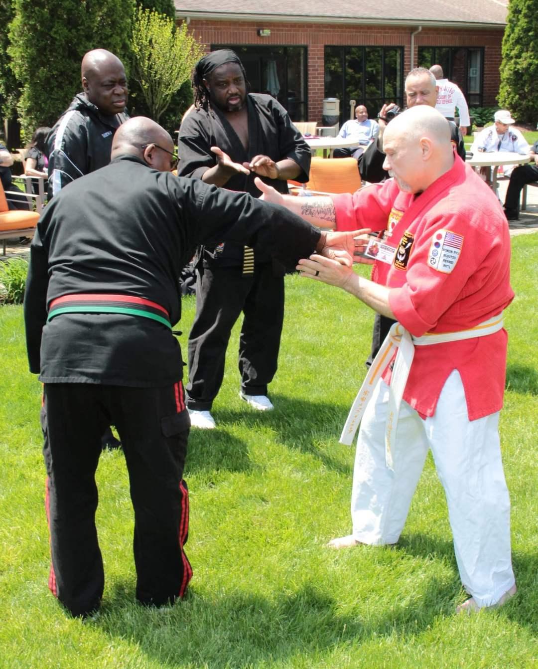 Soke Rick LeClair Martial Arts Demonstration 1