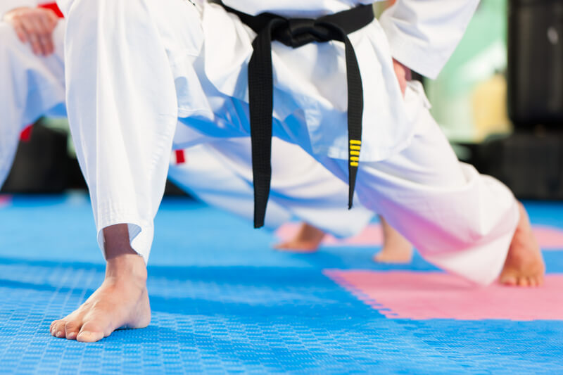 Leominster Martial Arts_white gi_black belt Kumi