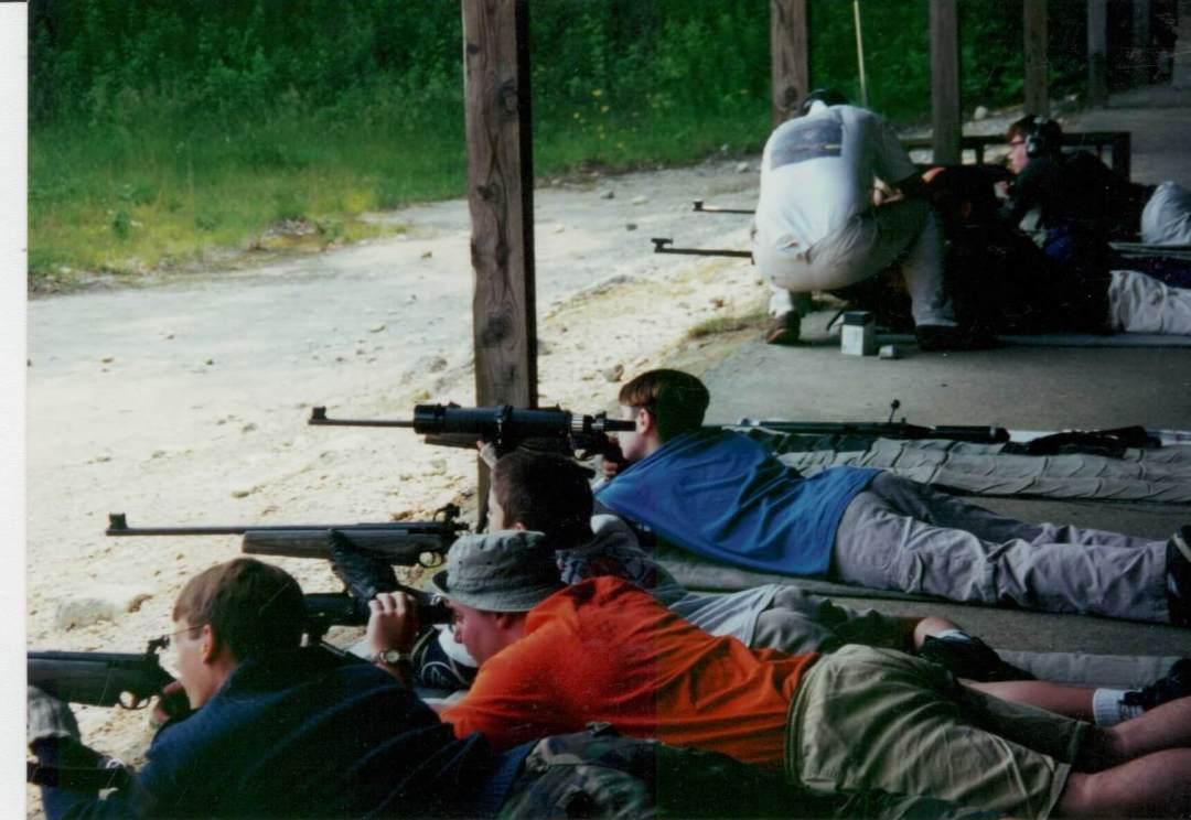 Leominster Firearms Training_Michael LeClair_Rifle Practice Range