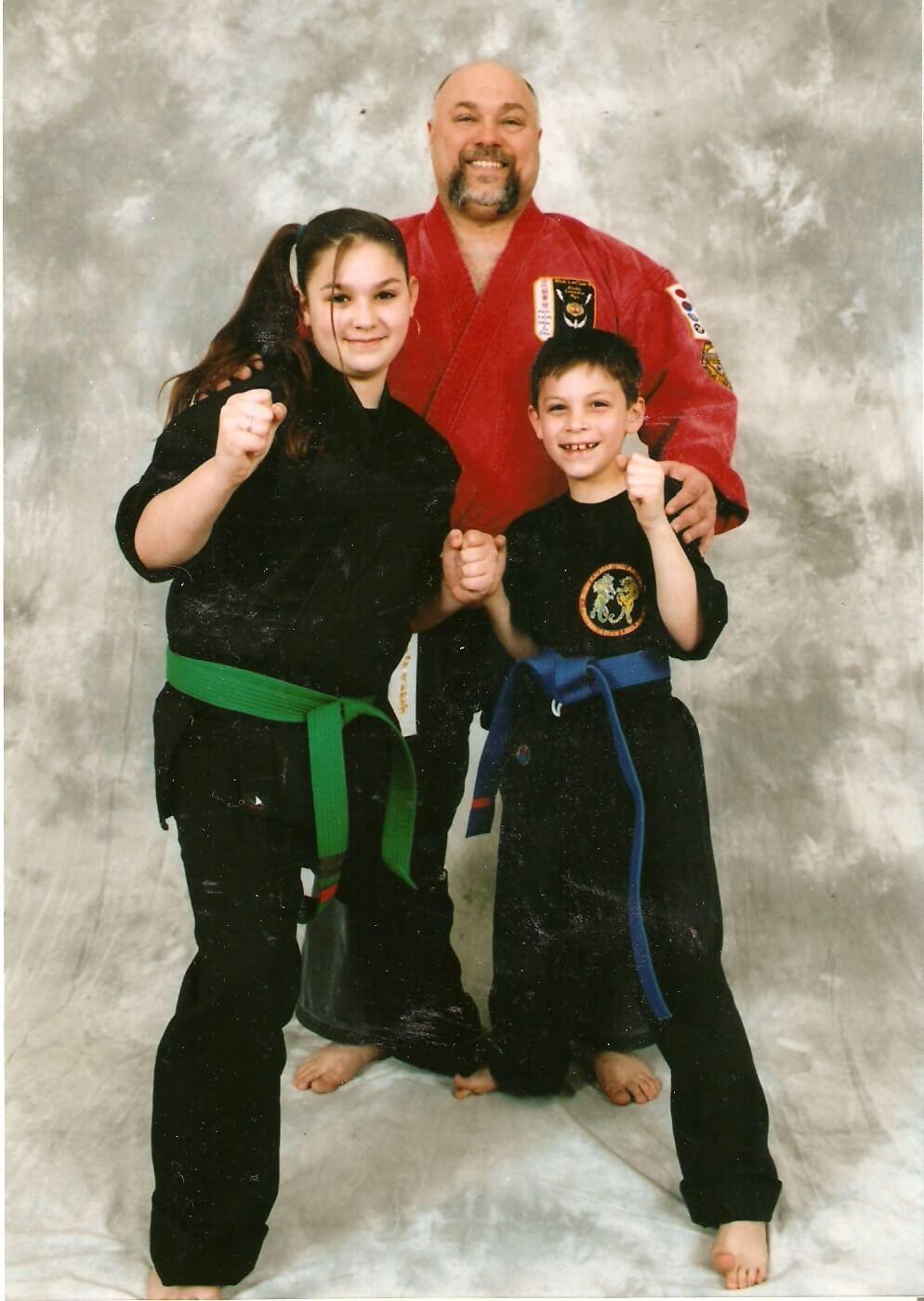 Leominster Martial Arts_Soke LeClair, Bobbi and Michael LeClair
