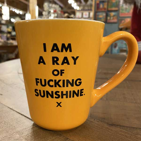 Ray of F**cking Sunshine Mug
