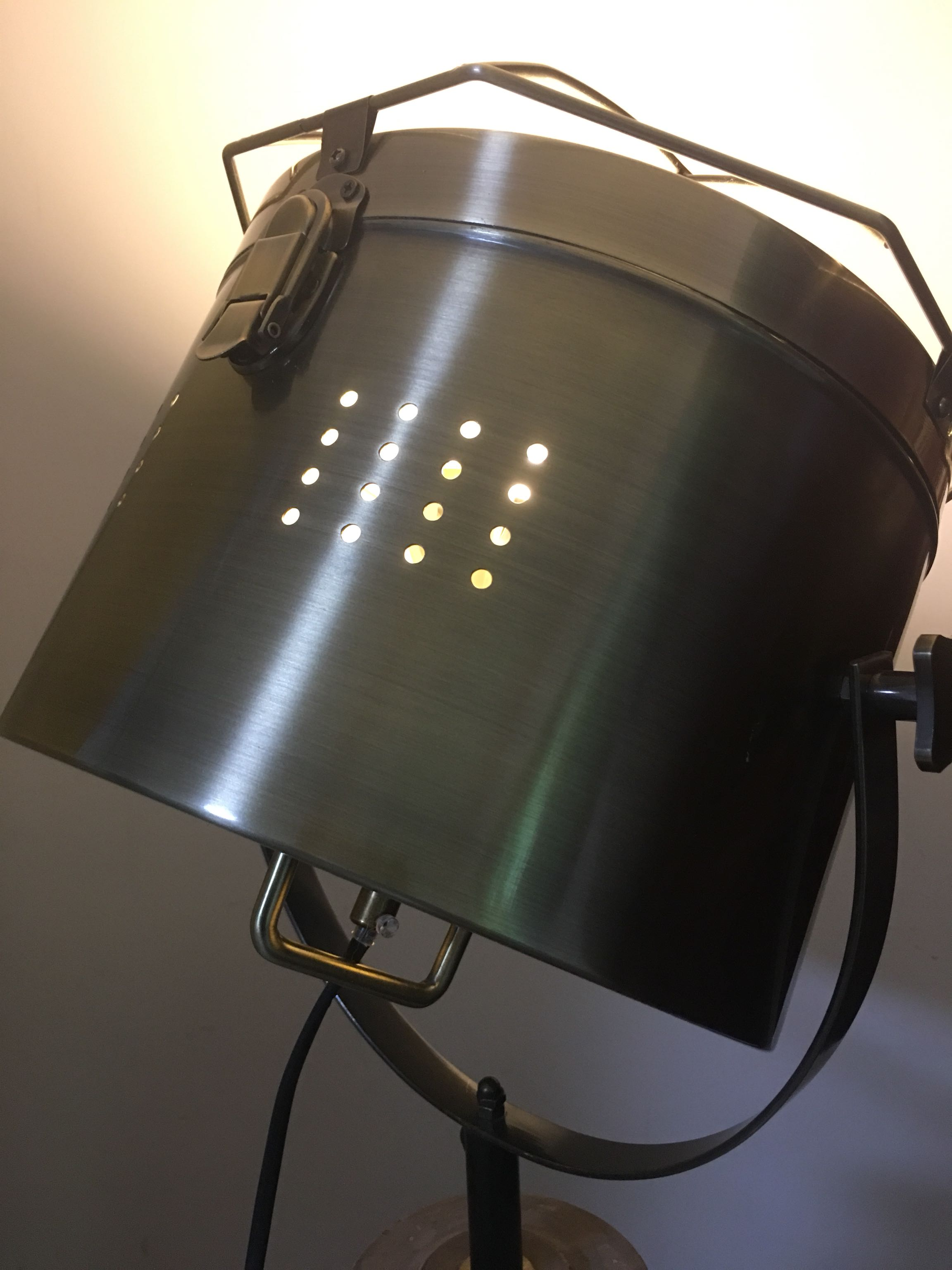 Nordic Lamp Light On