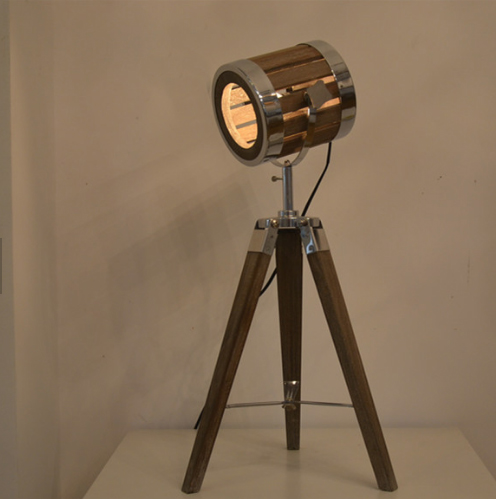 Leonard & Hazel™ Adjustable Tripod Spotlight Lamp
