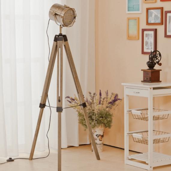 Nordic Style Tripod Spotlight Lamp - L&H