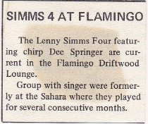 Lenny Simms Four Article