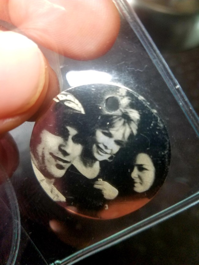 Photo Engraving on Pendant