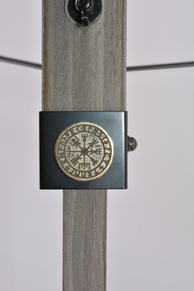 Norse Vegvísir Coin flare - tripod desk lamp tripod floor lamp