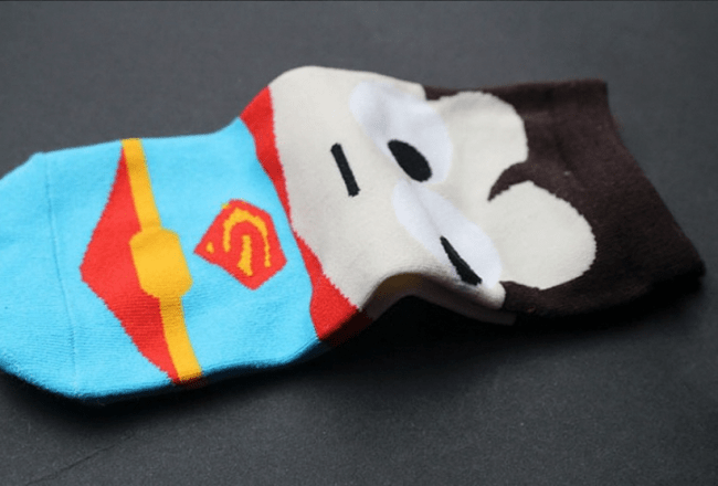 Superman Ankle Sock