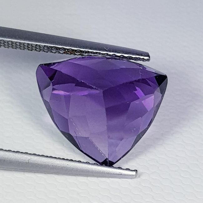 Natural Amethyst Triangle Cut 7.50 ct