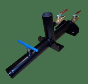 Dual chamber vacuum vise and LI base