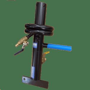 Lamination fixture with vise mount base