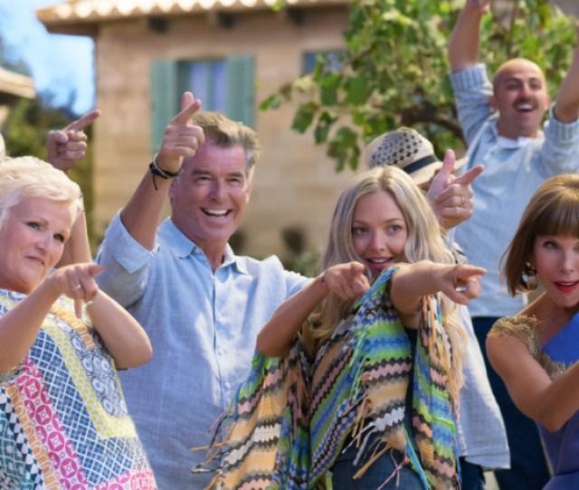 Mamma Mia Here We Go Again Indeed