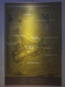 Tappa 7. La cartina dell'area archeologica.