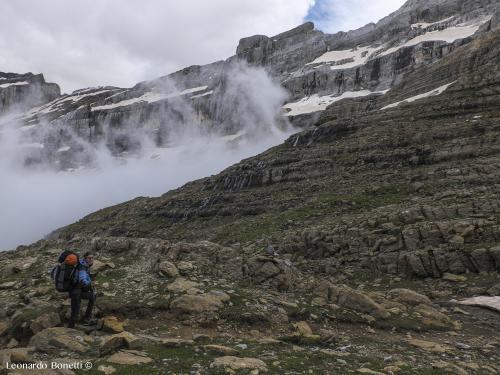 Distere rocciose nei Pirenei