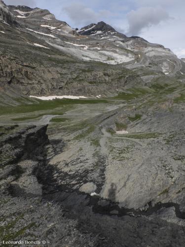 Paesaggio roccioso Pirenei