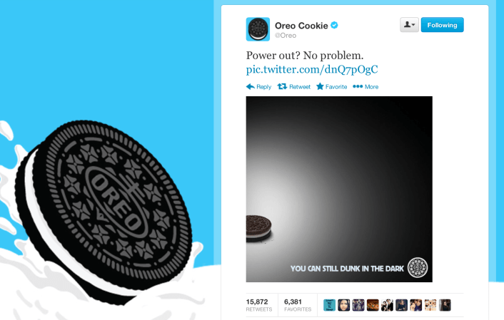 """Image result for oreos blackout tweet"""""""